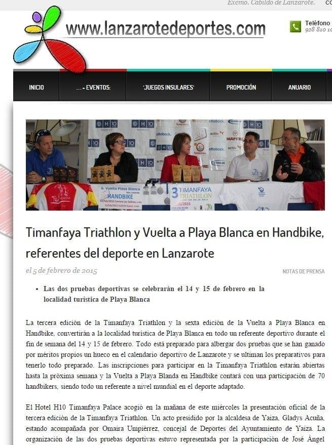 Lanzarote Deportes