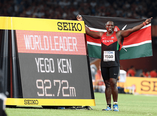 "Julius Yego ""YOUTUBE MAN"""